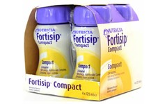 Fortisip Compact Banana 125ml Pack of 4