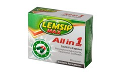 Lemsip Max All In 1 Cold & Flu Capsules Pack of 16