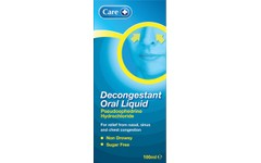 Care Decongestant Oral Liquid 100ml