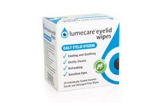 Lumecare Eyelid Wipes Pack of 20