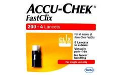 Accu Chek Fastclix Lancets Pack of 204