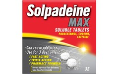Solpadeine Max Soluble Pack of 32