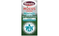 Benylin Mucus Cough Max Menthol 150ml