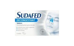 Sudafed Decongestant tablets Pack of 12