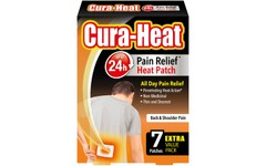 Cura-Heat Back & Shoulder Pain Relief Patches Pack of 7