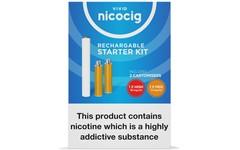 Nicocig Rechargeable Electronic Cigarette Starter Kit