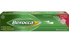 Berocca Effervescent Mixed Berries Pack of 15