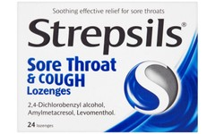 Strepsils Lozenges Sore Throat & Cough Pack of 24