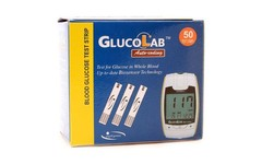 GlucoLab Blood Glucose Test Strips Pack of 50