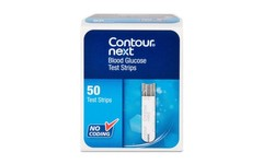 Contour Next Blood Glucose Test Strips Pack of 50