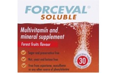 Forceval Soluble Adult Effervescent Tablets Pack of 30