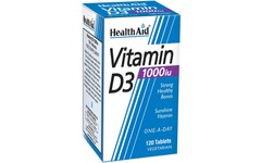 HealthAid Vitamin D3 1000iu Tablets Pack of 120