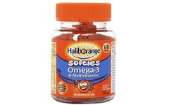 Haliborange Kids Multivitamin & Omega 3 Softies Pack of 30 x 3