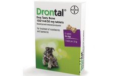 Drontal Bone Shaped Tablets Pack of 6
