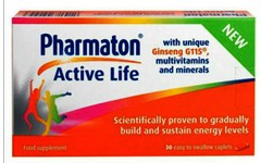 Pharmaton Active Life Caplets Pack of 30