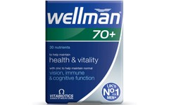 Wellman 70+ Tablets Pack of 30