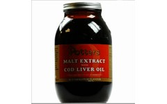 Potter's Malt Extract Cod Liver Oil & Butterscotch 650g