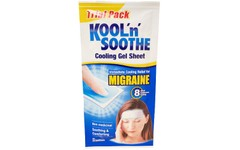 Kool 'n' Soothe Trial Pack Migraine Sheets Pack of 2