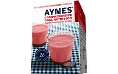 Aymes Nutritional Milkshake Strawberry Flavour  Sachet 57g Pack of 7