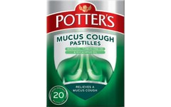 Potters Mucus Cough Pastilles Pack of 20