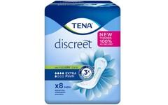 TENA Discreet Extra Plus Pads Pack of 8