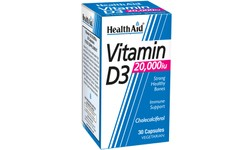 HealthAid Vitamin D3 20,000iu Capsules Pack of 30