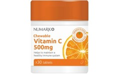 Numark Chewable Vitamin C 500mg Tablets Pack of 30