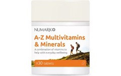Numark A - Z Multivitamins & Minerals Tablets Pack of 30