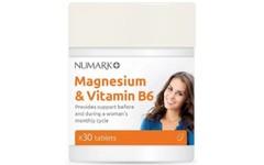 Numark Magnesium & Vitamin B6 Tablets Pack of 30
