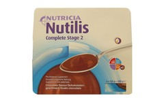 Nutilis Complete Stage 2 Chocolate Pack of 4