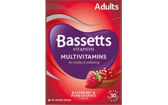 Bassetts Multivitamins Raspberry & Pomegranate Flavour Pack of 30