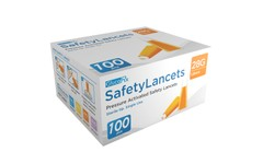 GlucoRx Safety Lancets 28G 1.8mm Pack of 100