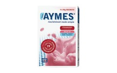 Aymes Powdered Shake Strawberry Flavour 4 x 38g Sachets