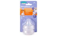 Lansinoh NaturalWave Medium Flow Teats Pack of 2