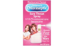 Children's Chloraseptic Sore Throat Spray 15ml