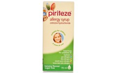 Piriteze Allergy Syrup One-A-Day 70ml