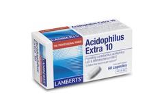 Lamberts Acidophilus Extra 10 Capsules Pack of 60