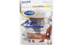 Scholl Flight Socks Sheer Natural size 6.5-8 Pack of 2