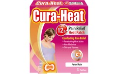 Cura-Heat Period Pain Relief Patches Pack of 3