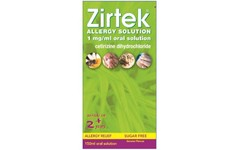 Zirtek Allergy Solution Sugar-free 150ml