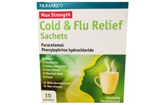 Numark Cold & Flu Relief Sachets Pack of 10