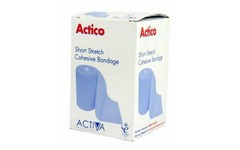 Actico Cohesive Short Stretch Bandage 6cm x 6m