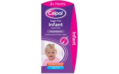 Calpol Infant Suspension Sugar-free Strawberry Flavour 100ml