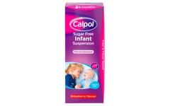 Calpol Infant Sugar-Free Suspension Strawberry Flavour 200ml