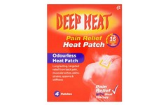 Deep Heat Patch Pack of 4