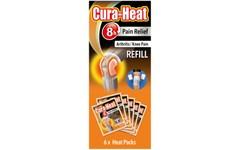 Cura-Heat Arthritis Pain Refill Pack of 6