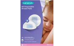 Lansinoh Disposable Nursing Breast Pads Pack of 60