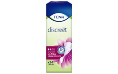 TENA Discreet Ultra Mini Plus Pack of 24