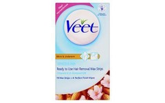 Veet Ready-to-use Underarm & Bikini Wax Strips Pack of 16