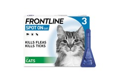 Frontline Spot On Cat Pipettes Pack of 3